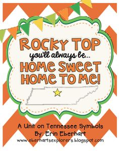 Monday Made It: A unit on Tennessee Symbols