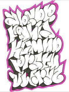 tag lettering alphabet | Cool Graffiti Alphabet Letters by GAR One || Graffiti Tutorial                                                                                                                                                                                 More