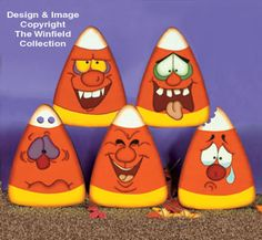 Krazy Korn Woodcraft Pattern Add some kraziness to your home or yard with these hilarious Halloween candies. #diy #woodcraftpatterns