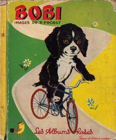 Illustration Pierre Probst. Bobi, le chien de Caroliiine