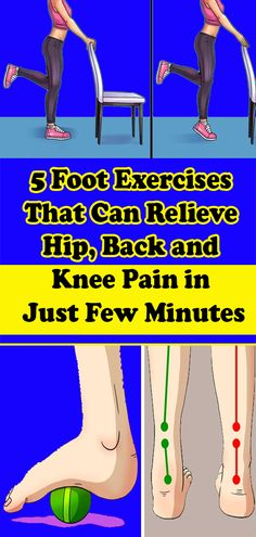 5 Foot Exercises That Can Relieve Hip, Back and Knee Pain in Just Few Minutes Health And Fitness Tips, Health And Wellness, Health And Beauty, Foot Exercises, Healthy Tips, Healthy Food, Senior Fitness, Health Eating, Knee Pain