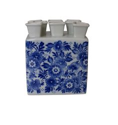 Tulpen vaas design Delftsblauw
