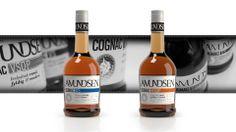 AmundsenCognac by Grid design Product Branding, Grid Design, Beverages, Drinks, Service Design, Signage, Language, Packaging, Bottle