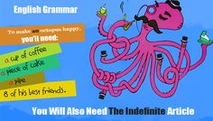 ESL Grammar - Definite, Indefinite, and No Article In English