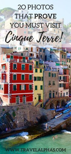 20 photos that prove you need to visit Cinque Terre, Italy!