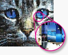Photo mosaic maker Artensoft Photo Mosaic Wizard is fully featured software;