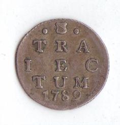 Netherlands Utrecht 2 Stuivers Double Wapenstuiver 1789