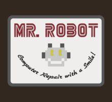 Mr Robot by GarfunkelArt