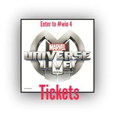 Enter to #win A family 4 pack of tickets to Marvel Universe Live Cleveland (ends 9/20) #giveaways | Coupon WAHM