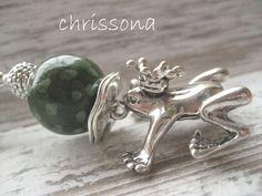 Anhänger Frosch  von chrissona auf DaWanda.com