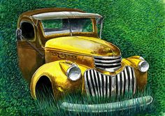 1941 Chevy pickup Painting