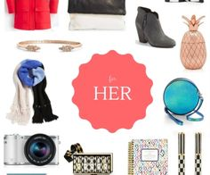 holiday gift guide FOR HER I howsweeteats.com