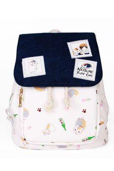 Natsume Yuujinchou Anime Cat Backpack #backpacks #newacc