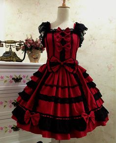 Sweet Love Lolita Dress Gothic Lolita Dress by TulleSkirt on Etsy