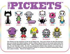 so-so happy characters - Pickets