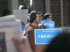First Lady Michelle Obama at the University of Nevada – Reno