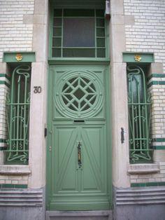 Belle Epoque Quarter, Antwerp, Belgium