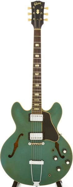 1967 Gibson ES-335TD Pelham Blue Semi-Hollow Body Electric Guitar, Serial # 871032.
