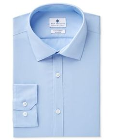 Ryan Seacrest Distinction Men's Ultimate Slim-Fit Non-Iron Performance Stretch Dress Shirt, Created for Macy's -