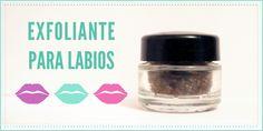Aprende a hacer un exfoliante para labios en este #tutorial con cosas básicas de tu cocina :)