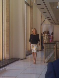Tory Burch at her eponymous label and show