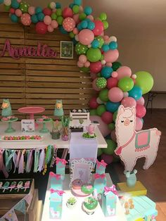 2 Birthday, Llama Birthday, Birthday Balloons, Birthday Party Decorations, First Birthday Parties, First Birthdays, Birthday Ideas, Baby Party, Baby Shower Parties