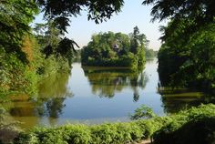 """Der See """"Lac Inférieur"""" im Bois de Boulogne"""