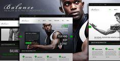 Balance - Gym Fitness WordPress HTML 5 Theme - ThemeForest Item for Sale