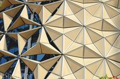 Exclusive Photos: World's Largest Computerized Façade Cools Aedas' Al Bahr Towers | Inhabitat - Green Design, Innovation, Architecture, Green Building