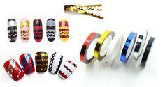 ¡¡Nuevo productazo para conseguir diseños de uñas espectaculares!!! Cinta zig zag a sólo 2,50 €!!