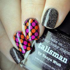 @picturepolish Talisman, Autumn & Allure  @colouralike Kind Of Black @uberchicbeauty 11-02