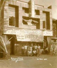 Subic Theater. 1956 Subic, Historical Photos, Philippines, Theater, Cinema, Street, Life, Historical Pictures, Movies