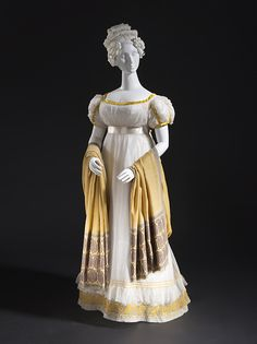 omgthatdress: Dress ca. 1820 via The Los Angeles County Museum of Art