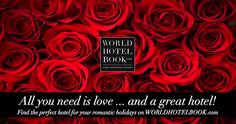 World Hotel Book - World Hotel Book Great Hotel, All You Need Is Love, Happy Valentines Day, Romantic, Holidays, Books, Beautiful Hotels, World, Nice Asses