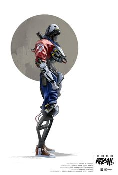 ROBO RECALL ILLUSTRATIONS