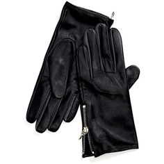 Tommy Hilfiger Leather Glove found on Polyvore featuring accessories, gloves, tommy hilfiger and leather gloves