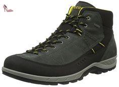 Ecco Yura, Chaussures Multisport Outdoor Homme, Gris (Black/Dark SHADOW56340), 46 EU - Chaussures ecco (*Partner-Link)