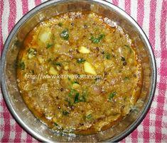 Delicious Vegan Recipes, Tasty, Maharashtrian Recipes, Indian Food Recipes, Ethnic Recipes, Vegetable Stock, Onion, Side Dishes
