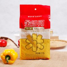 Check out this product on Alibaba.com APP Custom printing laminated NY/PE rice packaging bag with side gusseted for 1kg 2kg 5kg bag size