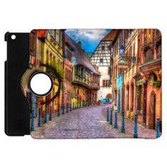 Alsace France Apple iPad Mini Flip 360 Case