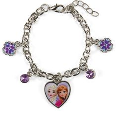 International Orted Brands Disney Collection Frozen Charm Bracelet