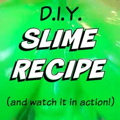 Slime Recipe by Kim Bongiorno   how to make Nickelodeon slime at home just in time for the KCAs   funny mom video   green slime recipe