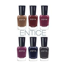 COMING SOON to Stewart & Company Salon: Entice Collection by #Zoya for Fall 2014