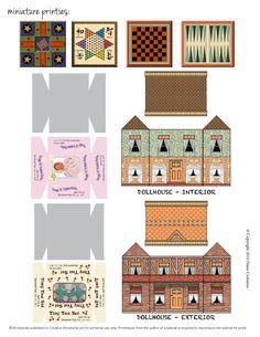 Creative Miniaturist vol 1 no 2  Spring 2014 Issue