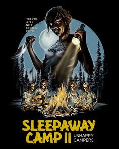 Time to pitch the tents! Sci Fi Horror Movies, Classic Horror Movies, Horror Movie Posters, Movie Poster Art, Scary Movies, Horror Pics, Real Horror, Funny Horror, Gugu