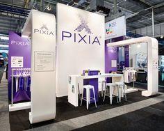 Pixia / Grafische Vakbeurs Exhibition Booth Design, Stand Design, Exhibitions, Inspiration, Creativity, Biblical Inspiration, Exhibition Stall Design, Inspirational, Booth Design