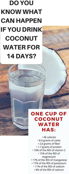 Do You Know What Can Happen If You Drink Coconut Water For 14 Days?