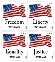 First Class postage stamps