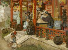 Franz F.D.Gailliard, In a Chinese shop