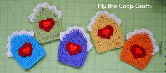 Fly the Coop Crafts: Happy Heart House Bunting TA DAH!